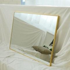 600x800 부티퍼 사각거울 [골드] - 무료배송
