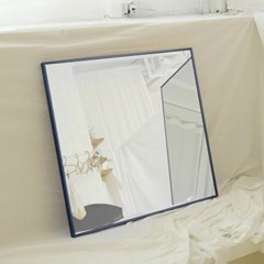 600x600 부티퍼 사각거울 [코발트 네이비] - 무료배송