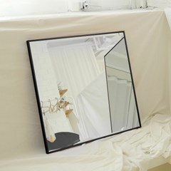 600x600 부티퍼 사각거울 [제트블랙] - 무료배송