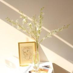 오키드 조화꽃가지 인테리어 조화장식(2color)