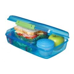 시스테마 BPA-free 벤토 런치 박스 도시락통 1.76L_(970902)