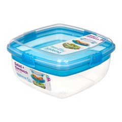 시스테마 BPA-free 투고 샐러드 & 샌드위치 런치박스 2i_(970901)