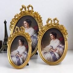 타원 리본 액자 거울 (10type)_(1901642)