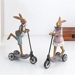 퀵보드 토끼 2p set