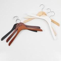 성인 아동 우드 원목 나무옷걸이 낱개