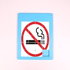 흡연예방 슬라이드 퍼즐 만들기 놀이(30인용)