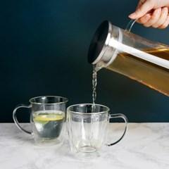 프리모 내열유리 물병+이중유리컵2P
