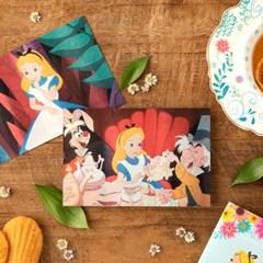 [디즈니] 앨리스 홀로그램 엽서