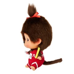 Let's Sports Monchhichi Field Athlete Girl Big Head S