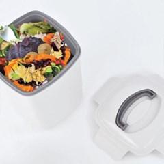 음식물 쓰레기통(화이트) 4L