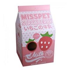MissPet Milk 우유팩 하우스 스크레쳐-바나나 (sj)