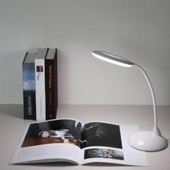 LED엔젤링 책상스탠드 자유로운각도 3단터치 LPS3
