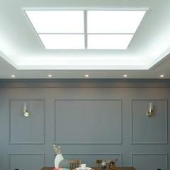 국산 LED 엣지 거실 방등 색변환 면조명 640X640