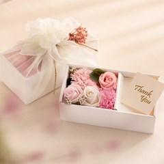 고운빛 보자기 용돈 박스 (핑크)