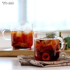 디에고 테라스 4p 세트 홈카페 커피잔
