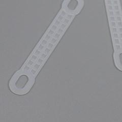 논슬립옷걸이 미끄럼방지 옷걸이패드 고무 걸이형 스티커형 100묶음