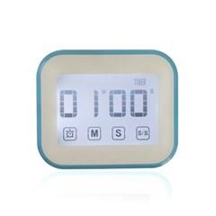 LED 터치스크린 다용도 디지털 타이머 시계 GT001-BL