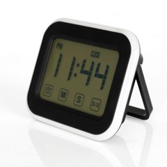 LED 터치스크린 다용도 디지털 타이머 시계 GT001-BK