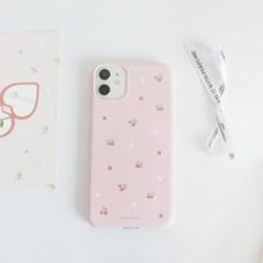 Pink strawberry 폰케이스