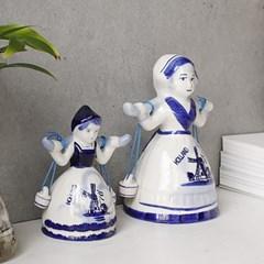 Delft Blue 소녀벨 -2size