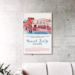 메탈 런던 풍경 그림 일러스트 포스터 액자 라울 뒤피 16