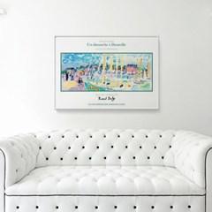 메탈 모던 풍경 그림 서양화 포스터 액자 라울 뒤피 11