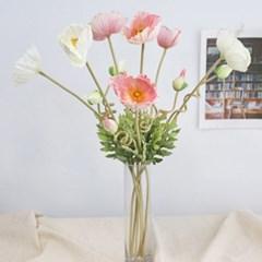 로맨틱 양귀비 2color - 인테리어조화