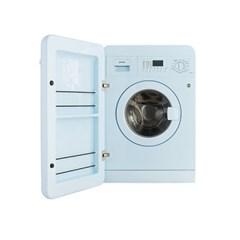스메그 레트로 세탁기 파스텔블루 LBB14AZK