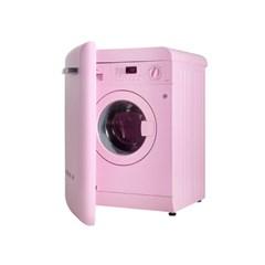 스메그 레트로 세탁기 핑크 LBB14ROK