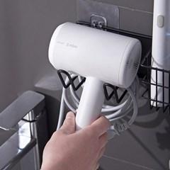 강력부착 화장실 드라이기 거치대 보급형