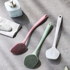위생적인 실리콘 다용도 주방 욕실 청소솔 3color
