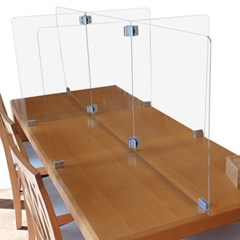 6인용 책상 칸막이 가림막 학원 공부방 스터디 파티션 12세트 이상