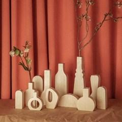 오니프 우드 나무 화병 onif vase series 07