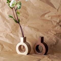 오니프 우드 나무 화병 onif vase series 04