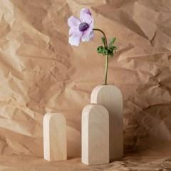 오니프 우드 나무 화병 onif vase series 01
