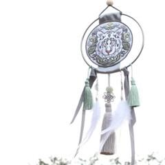 전통 영물 드림캐쳐 [백호]