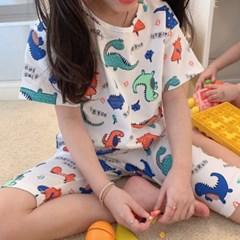 데) 공룡 아동 실내복