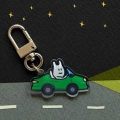 [퍼디] I Love My Car 키링 - 에어팟 키링 / 자동차 키홀더