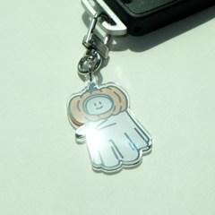 [퍼디] 호박 유령 키링 - 에어팟 키링 / 자동차 키홀더