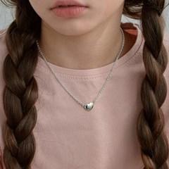 heart bean necklace