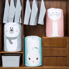[1+1] 대용량 이불 옷 장난감 정리 보관 주머니 3type