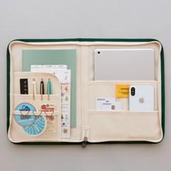 파일 오거나이저 북파우치 A5 - 태블릿 파우치