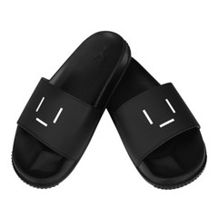 [7월 27일 예약발송]23.65 EMOTICON SLIPPER BLACK