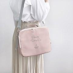 코니테일 밀키 쿨러백 - 핑크 (아기 이유식 보냉가방)