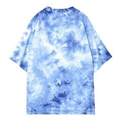타이다이 세컨드 티셔츠 BLUE