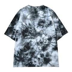 타이다이 세컨드 티셔츠 BLACK