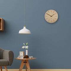 내츄럴함 그대로 자연을 닮은 심플한 내츄럴 라인 벽시계