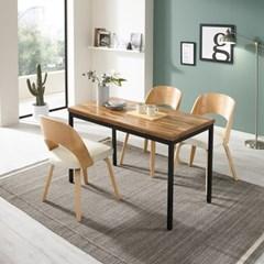 우드코디 LPM 4인 식탁 테이블