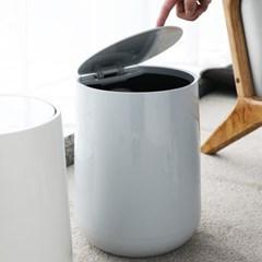 씨에스리빙 프라템 멜로우 원터치 종량제쓰레기통 2리터 10리터