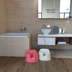 [힙스라이프] 비데케어 기능성 욕실의자 (샤워기포함)